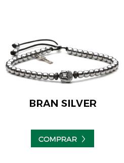 pulseira bran silver