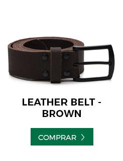 cinto leather belt