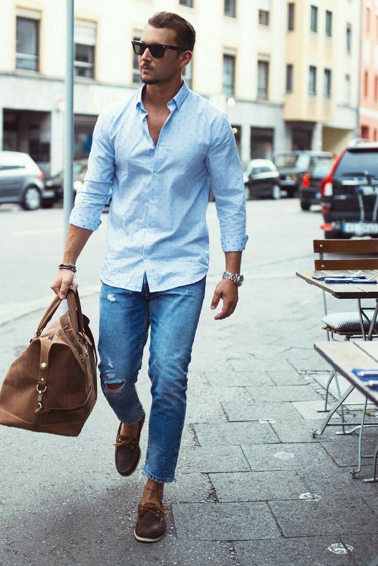 cac1089346 Moda masculina  tendência ou tabu