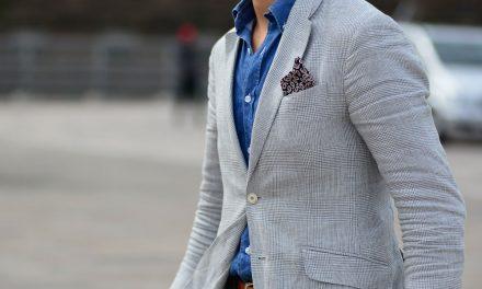 Como usar lenço masculino?