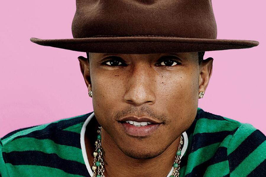 2e7d7f1769 10. Pharrell Williams  referência entre homens estilosos do Instagram