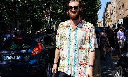Como usar camisa resort no calor?