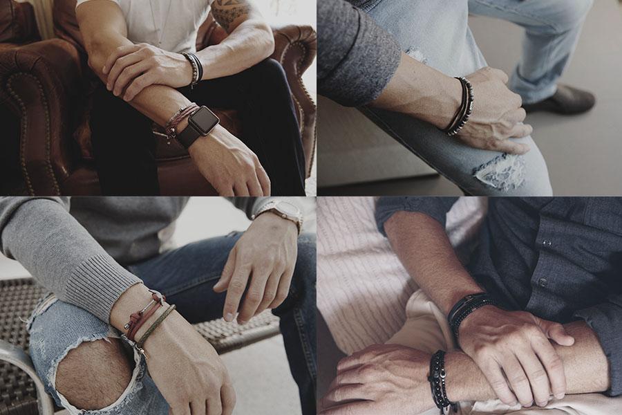 76be5993c79 Você sabe como escolher pulseiras masculinas