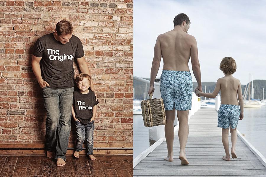 d8fa1c5f199305 O que é a moda tal pai, tal filho? Veja e aprenda como usá-la!